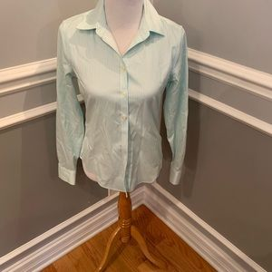 Banana Republic non iron fitted size 4